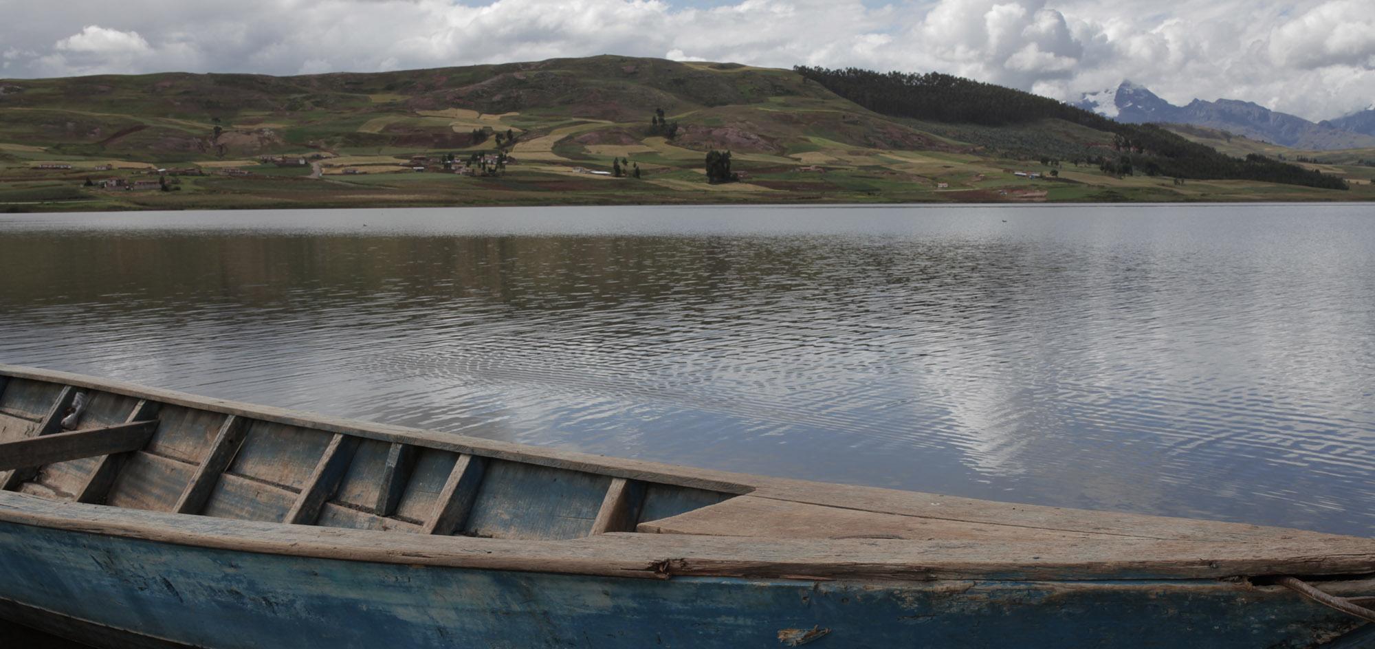 Pesca artesanal en la comunidad de Chacán
