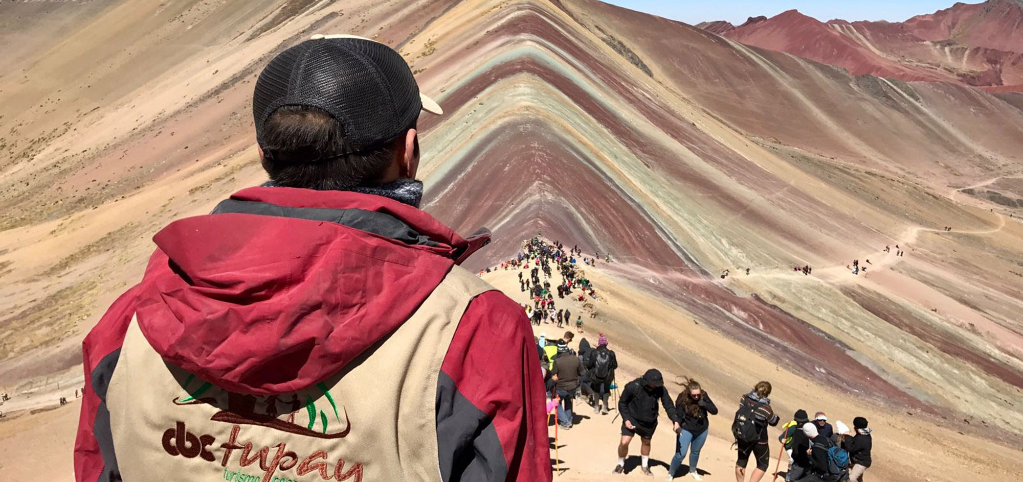 Vinicunca clásico…  el famoso Rainbow Mountain