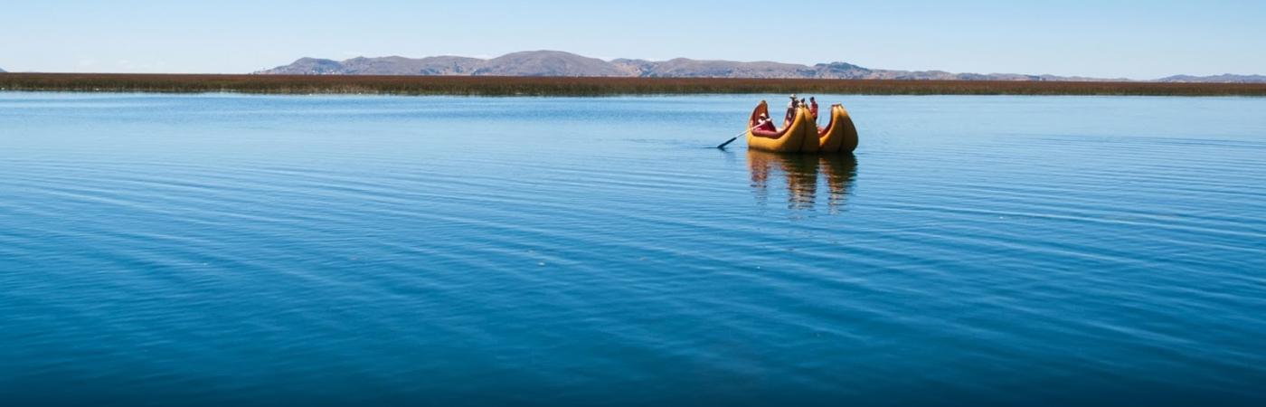 El lago Titicaca y sus islas flotantes
